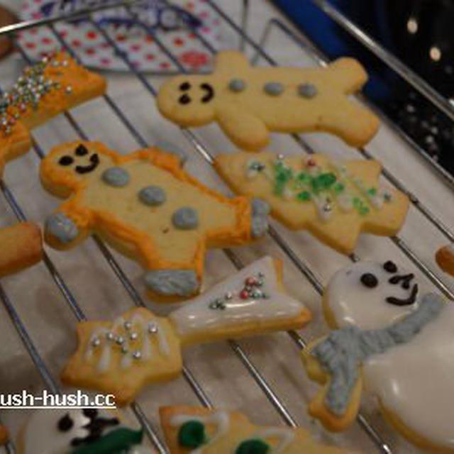 ♪★クリスマスクッキーレッスン★アメリカンベイキング♪