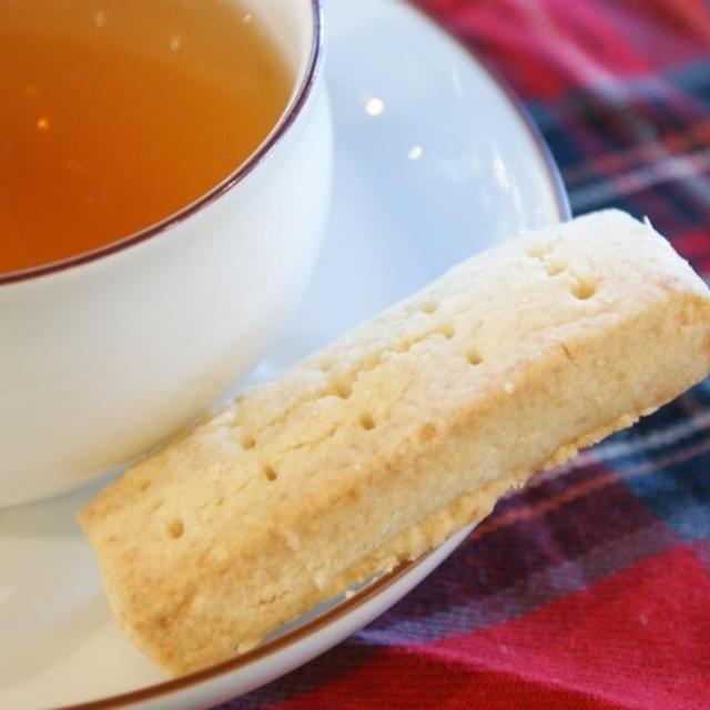 紅茶とショートブレッド