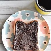 冷凍作り置きトースト~ココアのクッキートースト