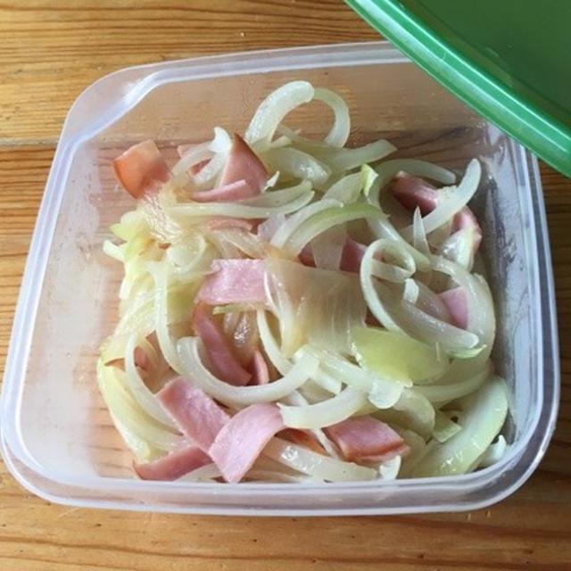 【常備菜】玉ねぎとハムを炒める!