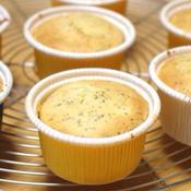 バニラ紅茶のカップケーキ