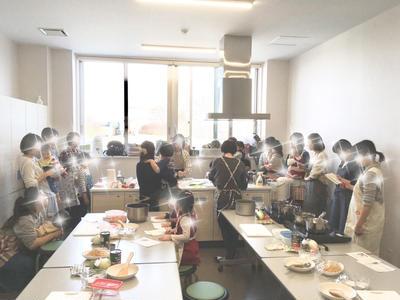 初☆料理教室開催
