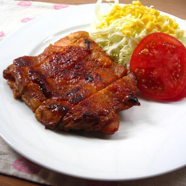 鶏肉の味噌漬け焼き