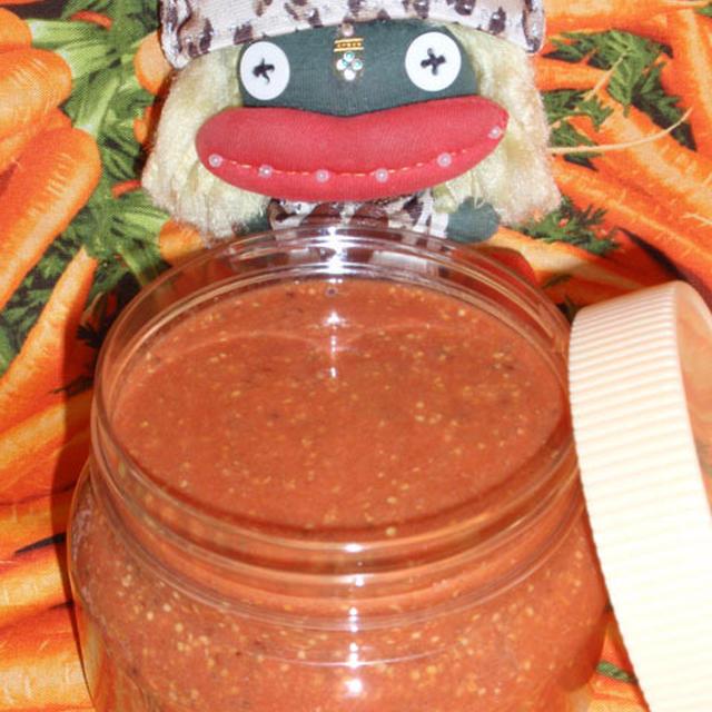 トマトマスタードソース〜豆腐とトマトの卵炒め(お家カフェ)