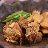【スペアリブと里芋の味噌煮込み。】/ちょっとのひと手間で美味しく。/圧力鍋でトロトロ。