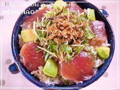 余った刺身でひとりご飯♪簡単おいしい「漬け」レシピ かつお丼