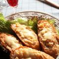 <じゃが芋とさつま芋のタラモサラダonバゲットサンドイッチ>