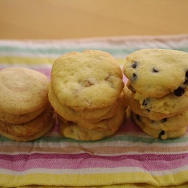 型抜きしない、お手軽クッキー
