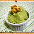 お豆腐で!アボカドアイスクリーム。