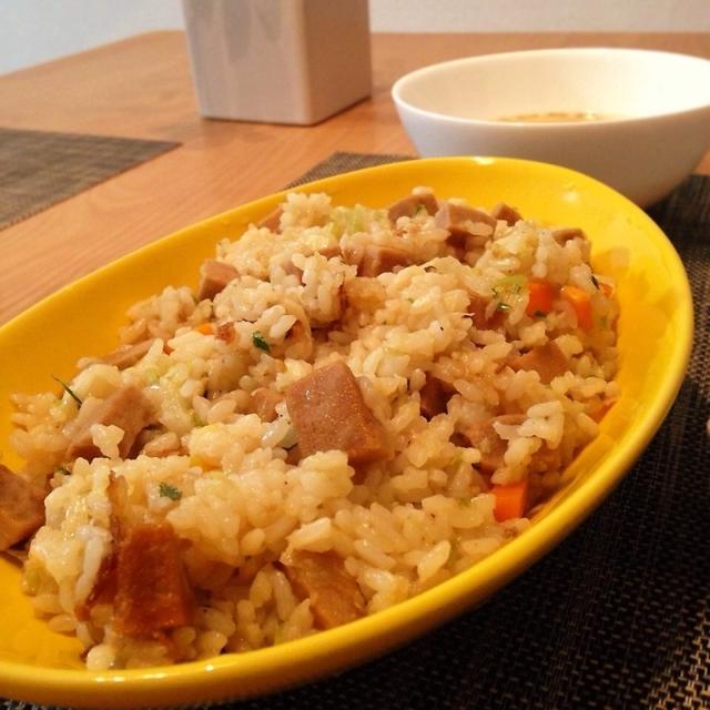 ★レシピ★高タンパク低カロリー!高野豆腐の照り焼きチャーハン