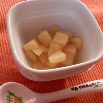 ポリ袋でパッククッキング 砂糖なしでも甘い煮リンゴ作りました