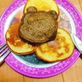 ふわふわもちもち♪自家製HMでココアパンケーキ by 藤本 あゆみ 美容料理研究家さん