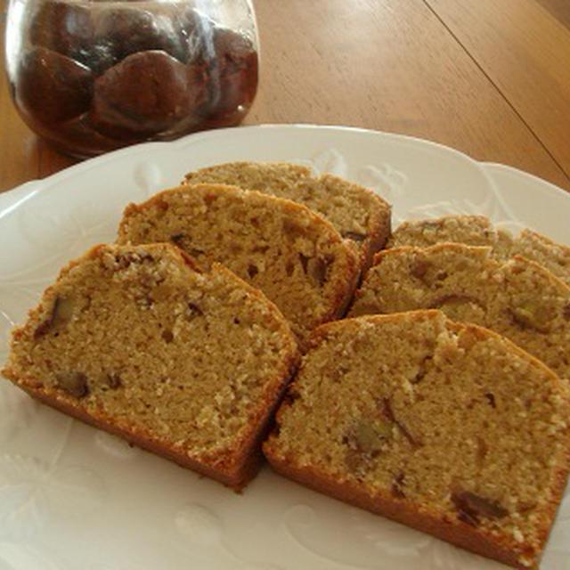 秋の香り★栗とシナモンのパウンドケーキ
