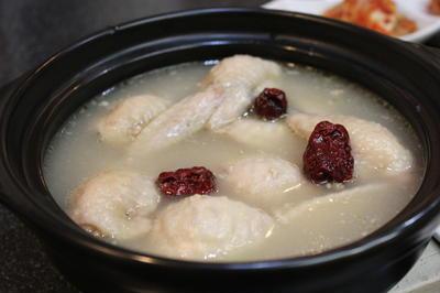 手羽先で作る参鶏湯