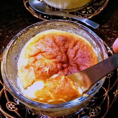 フワッフワ「苺入りマスカルポーネのチーズスフレ」