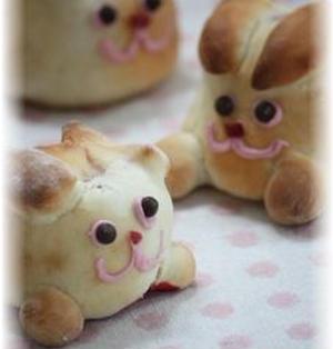 うさぎパン。