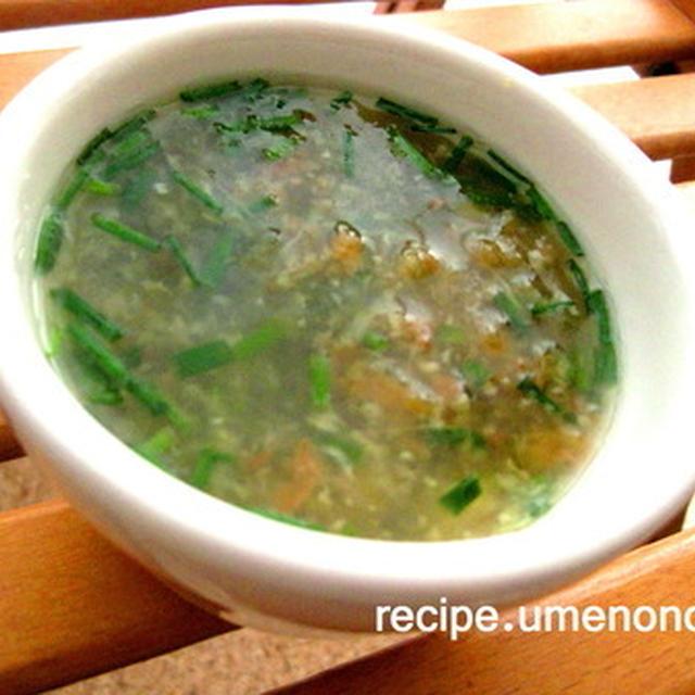 生姜と梅干の薬膳汁*・゜゚・*:.。..。.:*・゜