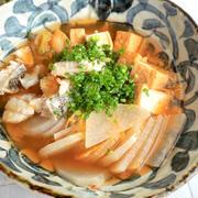 温まる♡タラと大根のキムチ煮