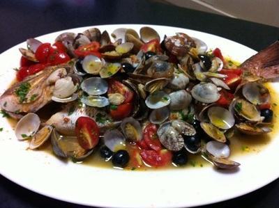 ドライトマトペーストで真鯛のアクアパァッツァは美味しいよ!