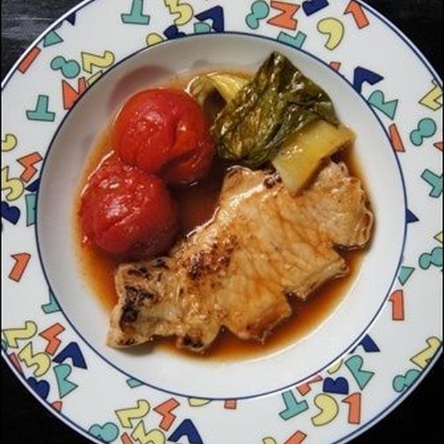 豚ロースのトマトじっくり煮のレシピ:保温調理鍋が我が家に♡