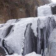 氷瀑・袋田の滝。と、勝手丼。