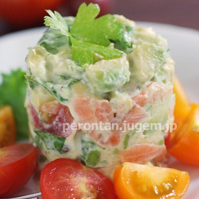「タルタルサラダ」カンタン美味しいおつまみ♪