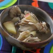 きのことりんごのジンジャースープ