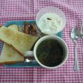 お手軽朝食プレート