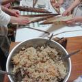 4月大人cook会!中華ちまき&しゅうまい&手作り餃子の会!ありがとう。