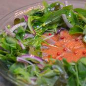 リース風 サーモンのカルパッチョサラダ