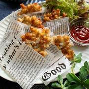 【レシピ】大人気で止まらない♡れんこん入りハッシュドポテト♪ と メガネエルサ。