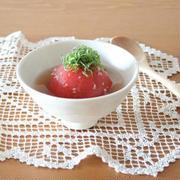 夏のひんやりおかずに♪「トマトのおひたし」おすすめレシピ