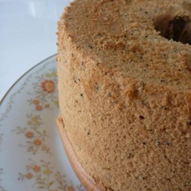 アールグレイのシフォンケーキ(自己流のレシピで),お届けもの