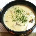 キノコ・たまねきクリームスープ