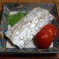 太刀魚のレモンペパーミックス焼き