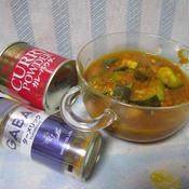 夏野菜のスープカレー