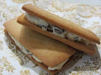 六花亭風レーズンバターサンド
