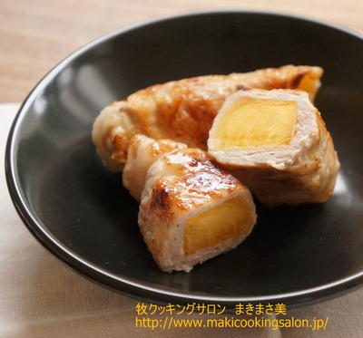 ≪柿の肉巻きソテー≫レシピ
