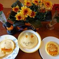 かぼちゃホットケーキ