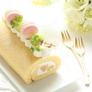 夏休み最後の☆フルーツと愉しむロールケーキ