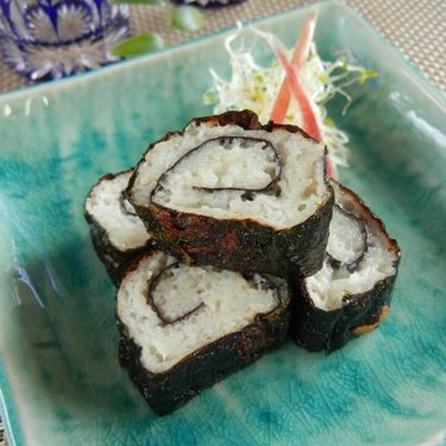 お弁当にも♪大和芋の海苔巻き揚げ
