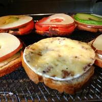【Recipe】PRESIDENTカマンベールチーズ~オープンサンド