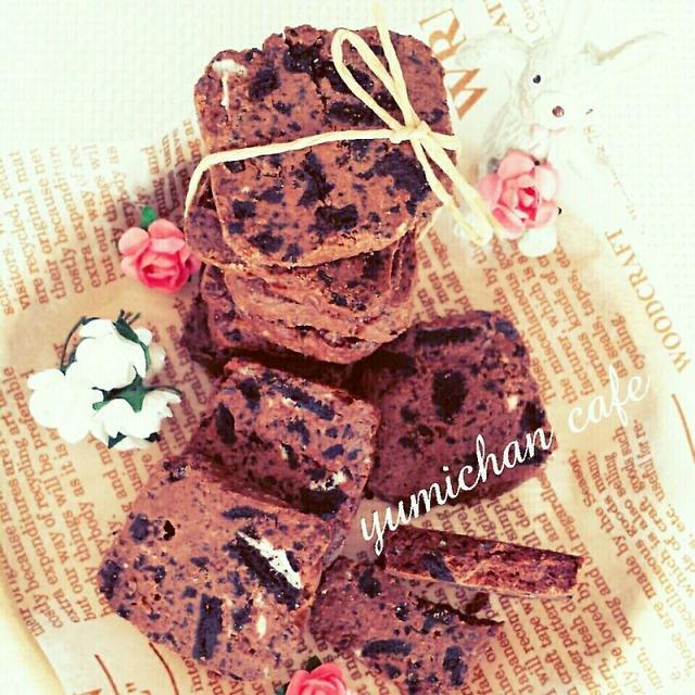 ♡材料3つ♪HMで作る♡オレオチョコクッキーの作り方♡