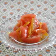 【副菜レシピ】あえるだけ!すぐできるトマトおかず