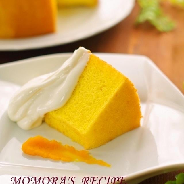 amazon予約受付復旧♡&ホットケーキミックスHMで簡単お菓子シットリふわほわ♪かぼちゃシフォンケーキ