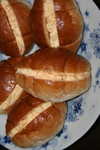 2月14日  十二穀入りロールの玉子サンド(城山杯)