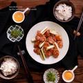 フライパンでピリ辛焼き鳥 by naomiさん