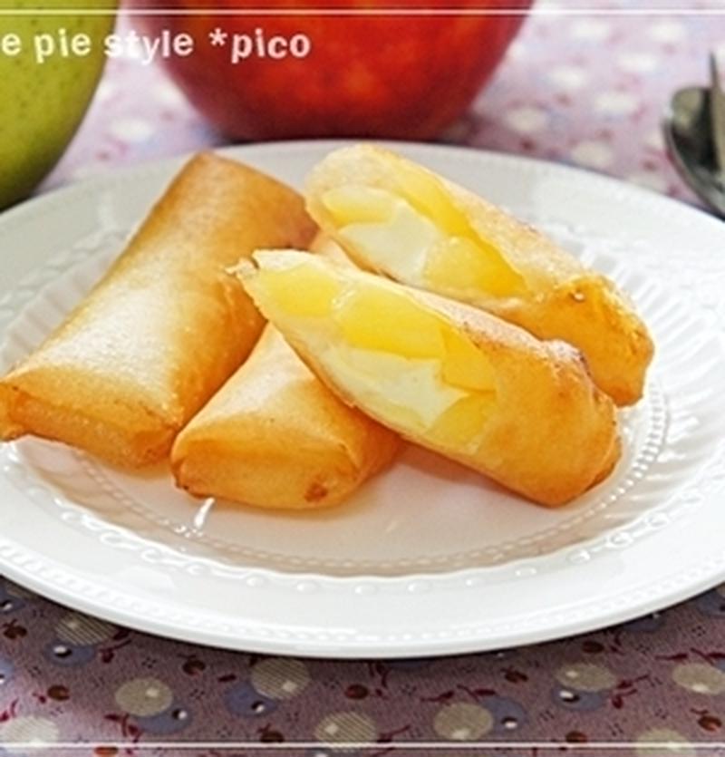パイ生地をアレンジして手間いらず♪簡単「アップルパイ」はいかが?