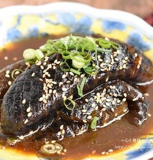 ピリ辛で食がすすむ*なすの韓国風煮浸し