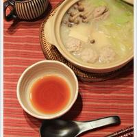 鶏団子の水炊き